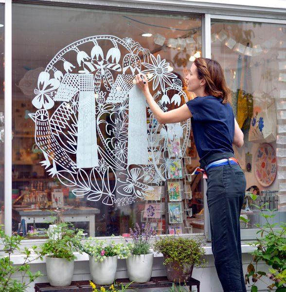 WIndow Drawing J.Marabelle Japan