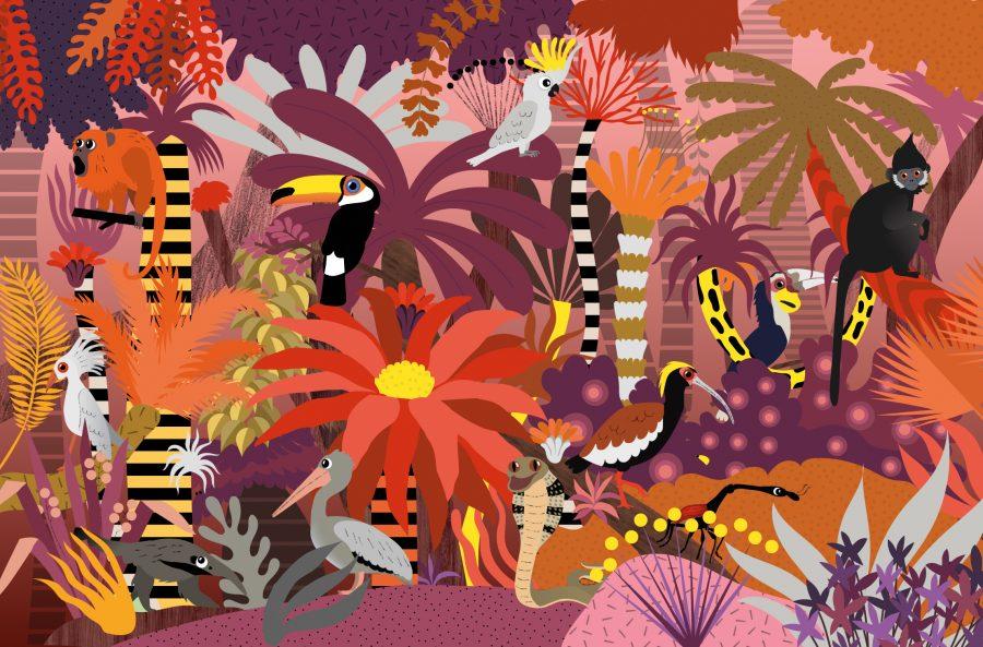 Who's hiding in the jungle