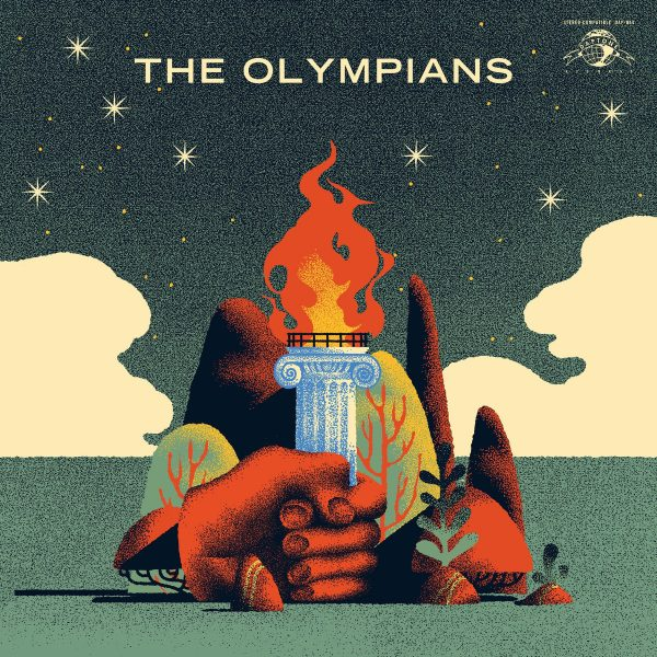 Record Cover - THE OLYMPIANS