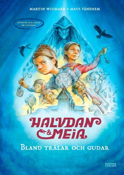 Halvdan & Meia - Among Slaves and Gods. Cover