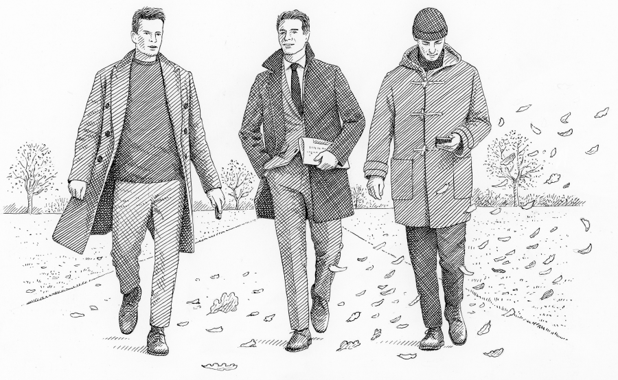 How to pick a coat (Mr Porter)