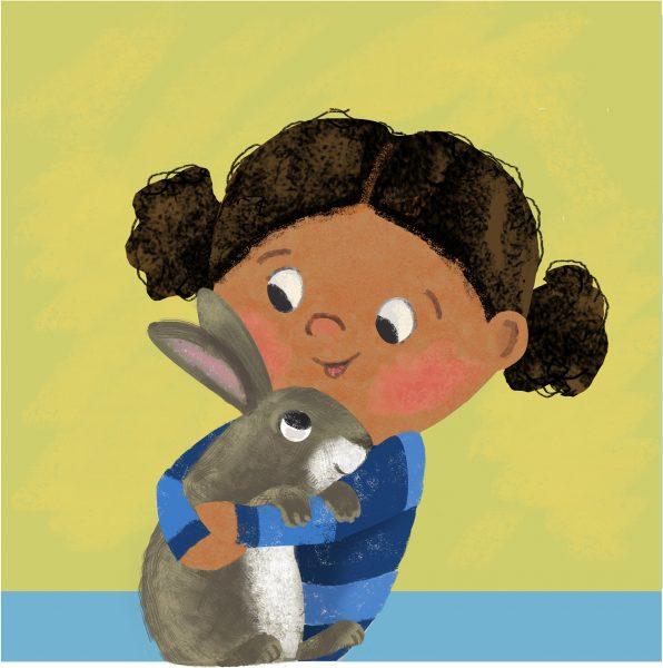 Renu and Rosie the Rabbit