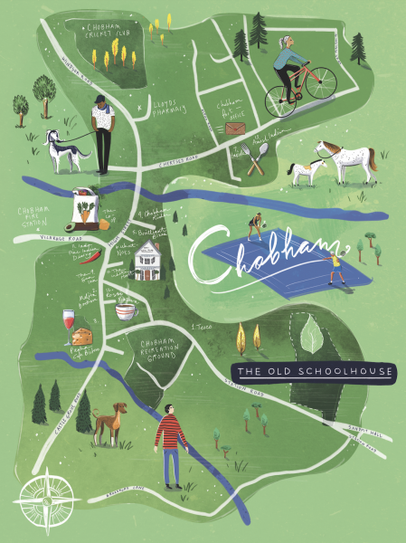 Chobham Map