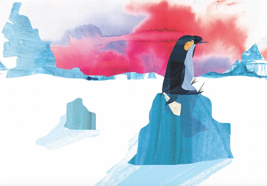 Penguin receives bad news
