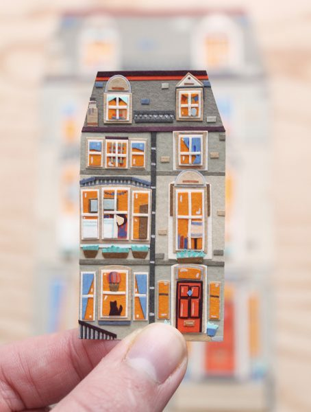 Miniature Edinburgh New Town House