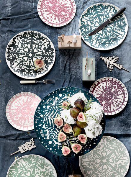 Christmas tableware collection