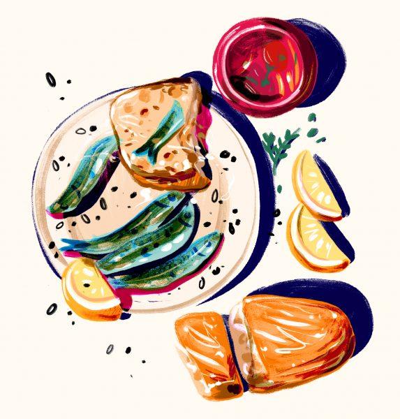 amber day_sardines