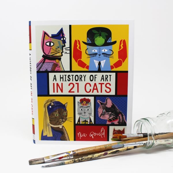 A History of Art in 21 Cats Book