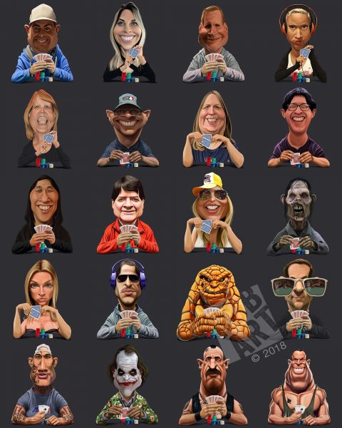 Eastern Poker Tour App Avatars