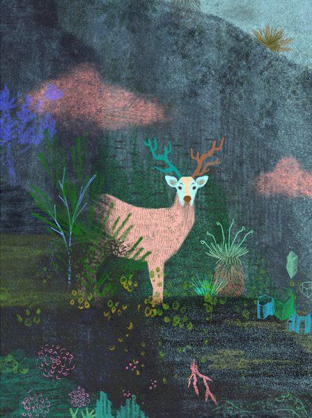 The Deer's Revery