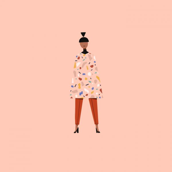 Fashion Illustration – Terazzo