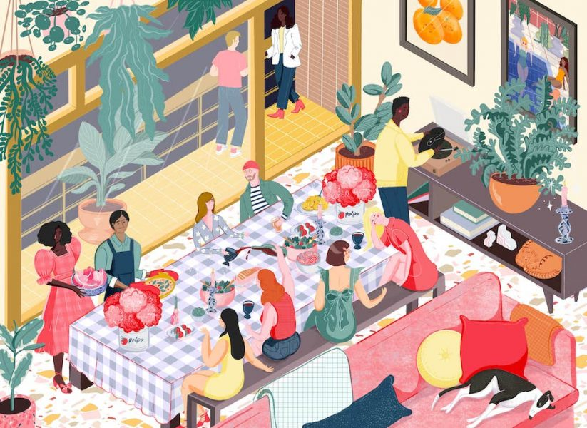 Bryony Moss- Dinner Party