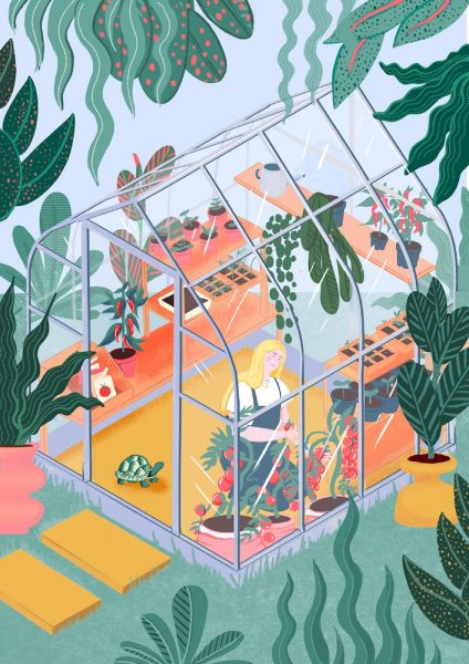 Bryony Moss- In the Greenhouse