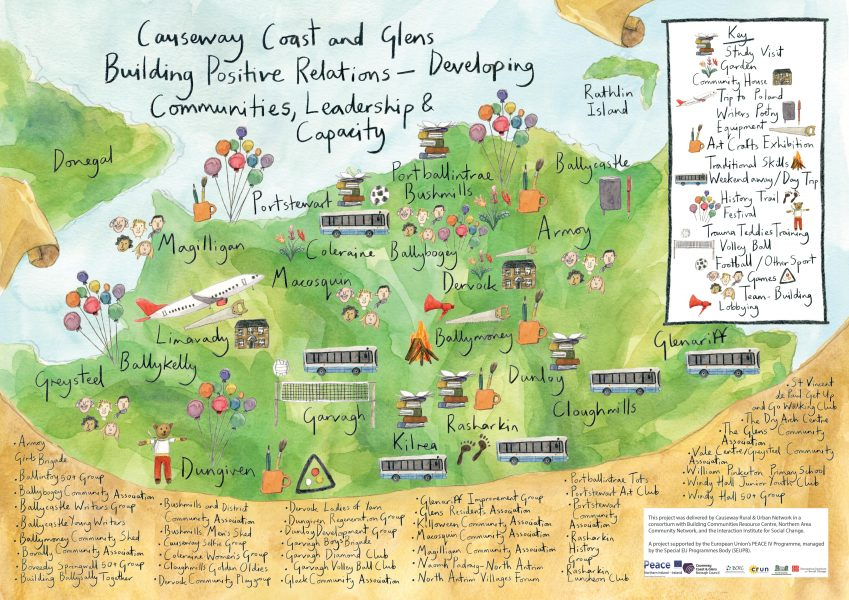 CC+G Positive Relations Map