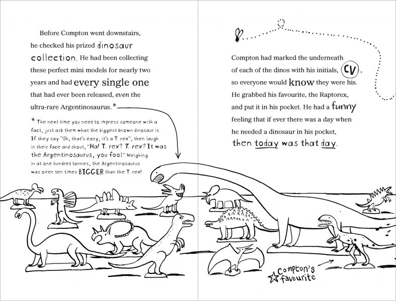Compton Valance- mini dinosaurs