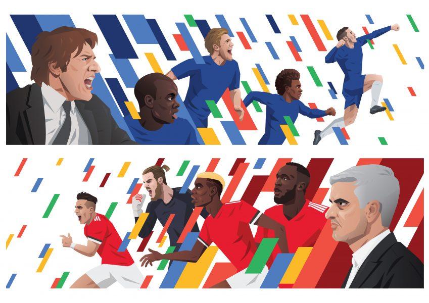 FA Cup Murals