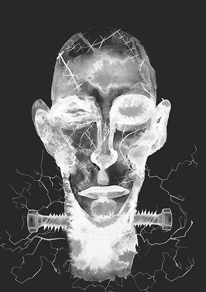 Frankenstein X-ray