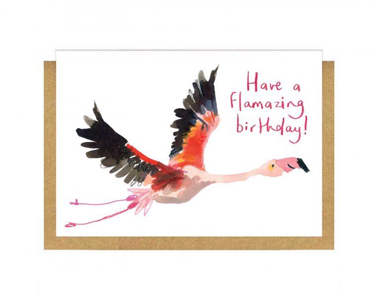 Flamazing Birthday Card