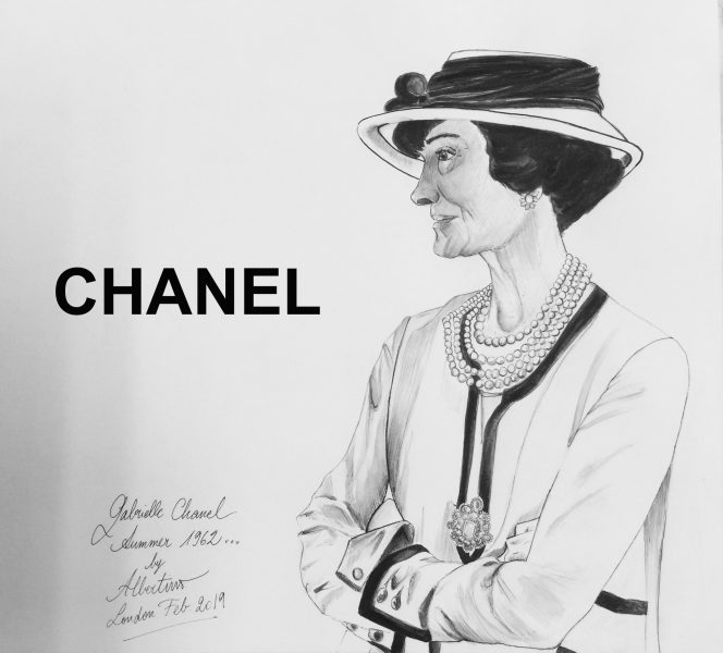 Gabrielle CHANEL by Albertino