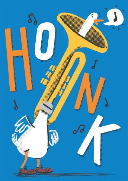 ArtHole Zine - Honk