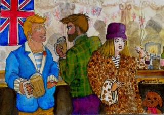 Meeting in a Pub