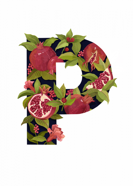 Letter P Illustration