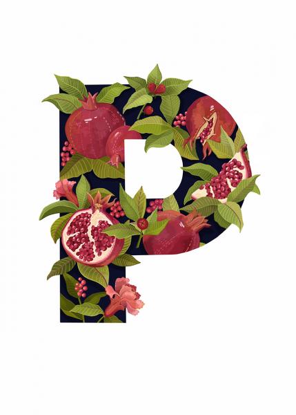 Letter P Illustration