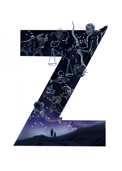 Letter Z Illustration