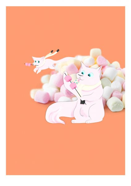 Marshmallow Fox