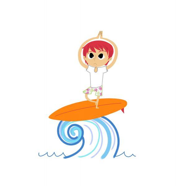 Surfer Spot Illo