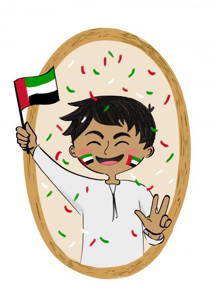 UAE National Day Boy