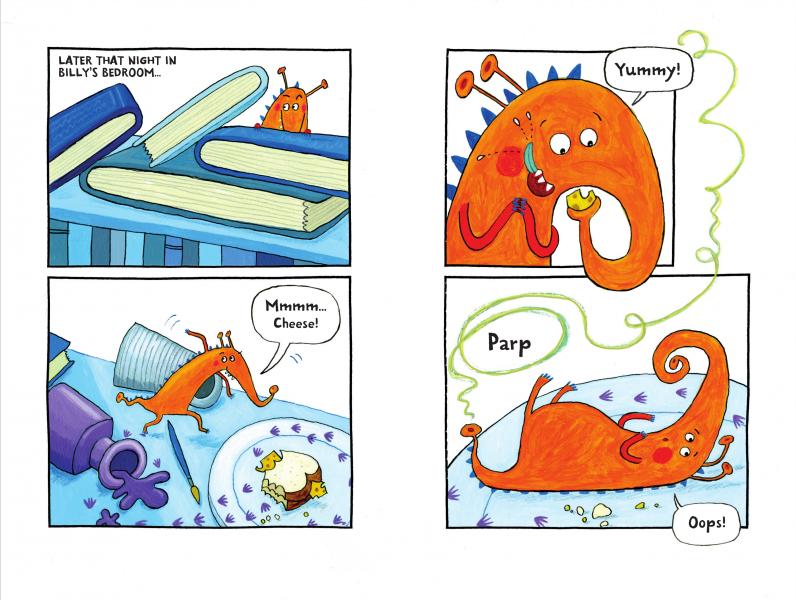 Monsters in the Dark comic strip