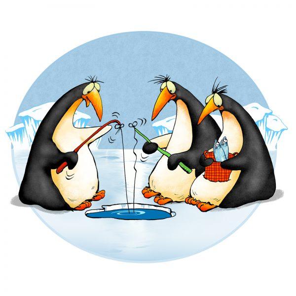 Penguins_fishing