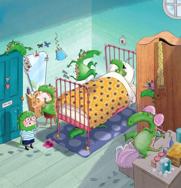 Knock knock Dinosaur 1