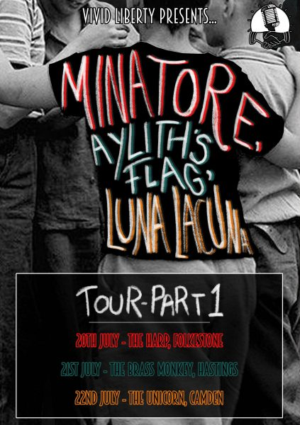 Vivid Liberty Tour Poster