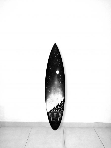 Customised Surfboard