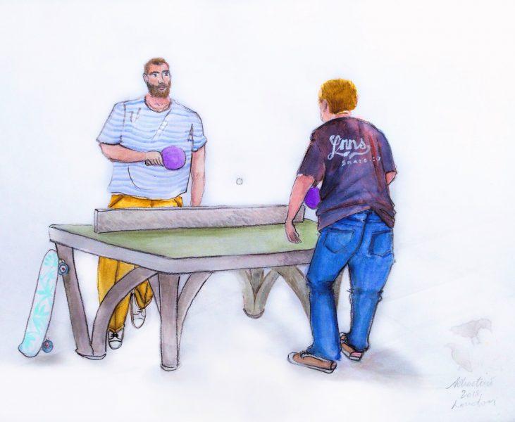 SOHO Ping Pong by Albertino | Maison Des Albertins