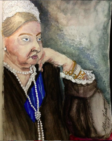 Queen Victoria - Sketch book 5