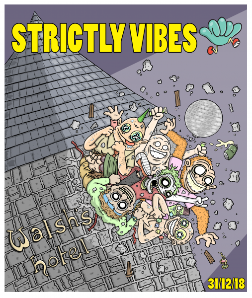 Strictly Vibes Poster