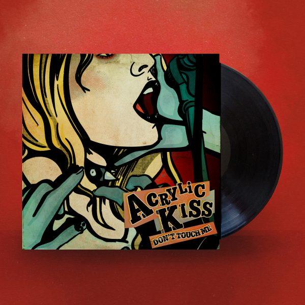 36 Days Of Type: Acrylic Kiss