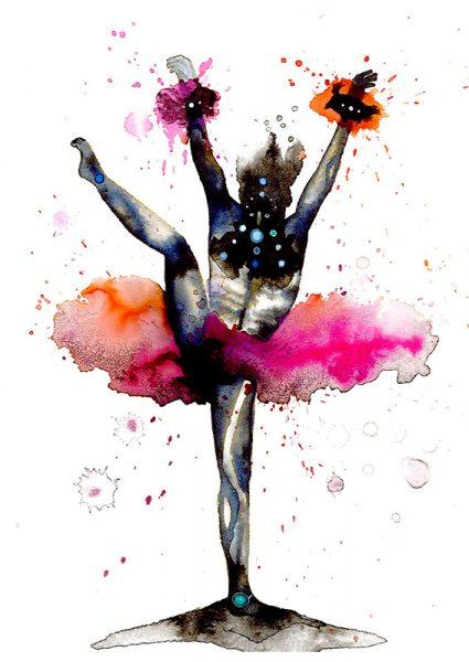colourful dancer 1