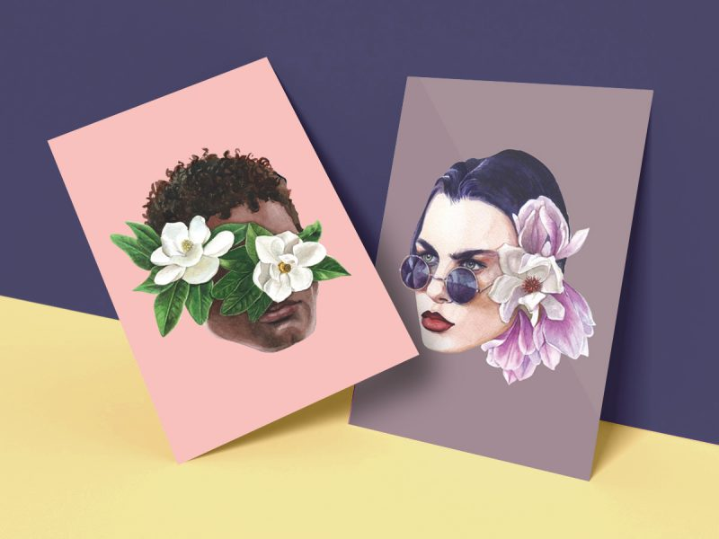 Portrait prints