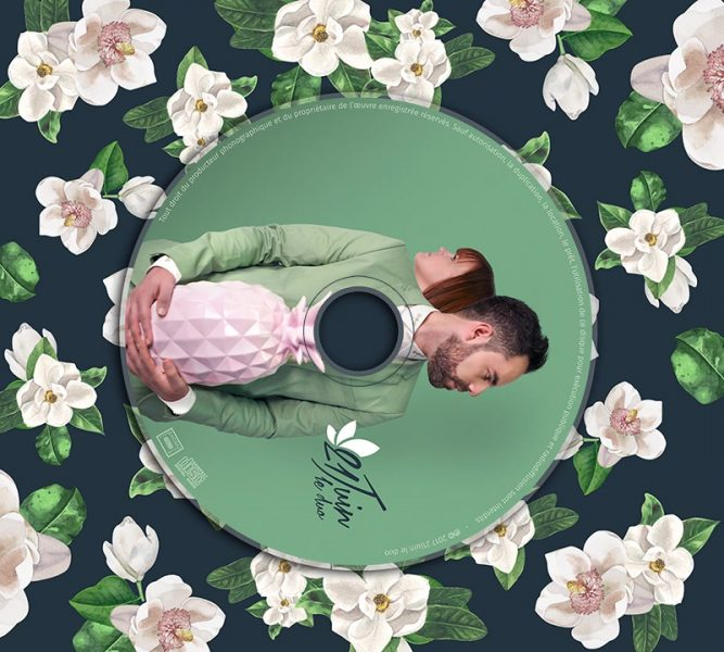 Album cover animation