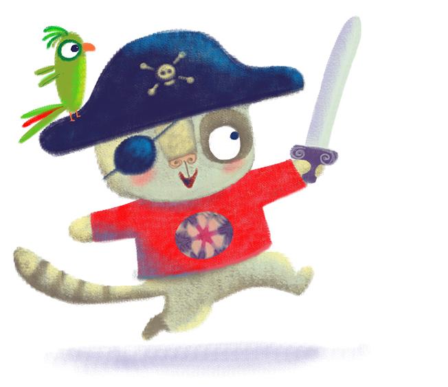 little naughty pirate