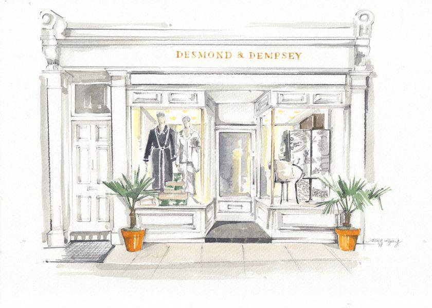 Desmond and Dempsey Shopfront