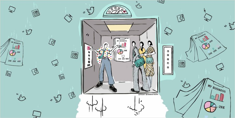 Heads-up Coaching: 'Boost your Elevator pitch'