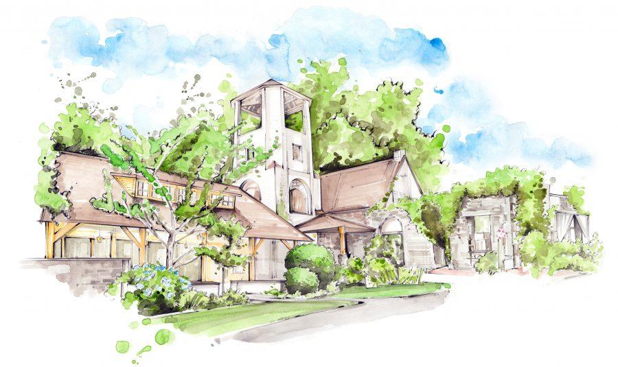 Conner Weddings venue Illustration