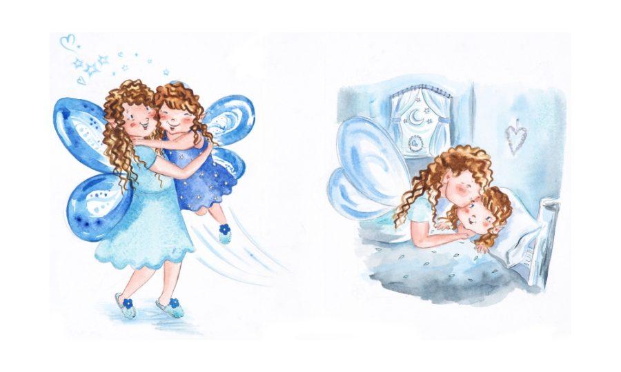 Fairy Hugs and Kisses Vignettes