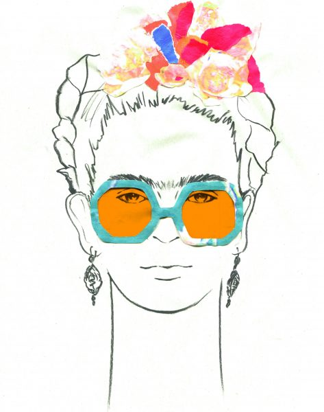 Frida Glasses Orange