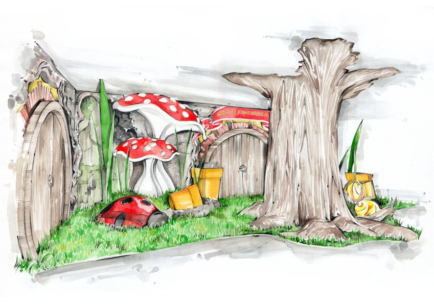 Harrods Christmas Grotto